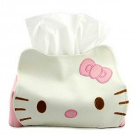 Kitty PU Tissue Box