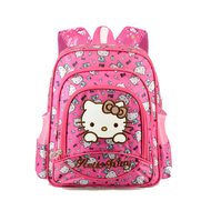 Isales Kids 15-inch Cartoon School bag backpack Waterproof Ergonomic backpack Cat Design