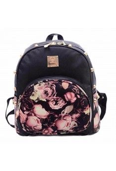 READY STOCK ISALES Backpack Floral Shoulder Cute Bag Beg Travel School Murah