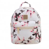 READY STOCK ISALES Backpack Floral Shoulder Cute Bag Beg Travel School Murah ISSB0221