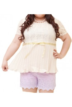Designed by taiwan Plus Size top 3XL BUST SIZE 123-132 PSF4001