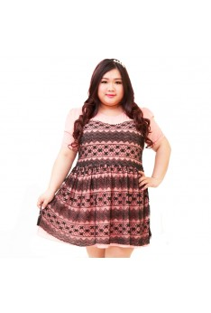 Design by Taiwan Plus Size Dress (UP to 4XL BUST SIZE 133-142) PSF4006