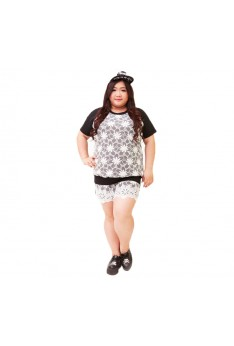 Design by Taiwan Plus Size Casual Short Pants (SIZE UP TO 4XL, 138 HIPS) PSF4008