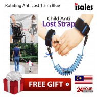 Ready Stock Isales Baby Kids Safety Harness Child Leash Anti Lost Wrist
