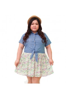 Design by Taiwan Plus Size Dress (SIZE UP TO 4XL, 139.8 CM BUST)