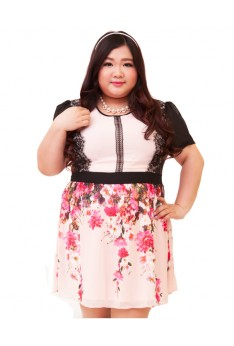Design by Taiwan Plus Size Dress (UP TO SIZE 4XL, 139 Bust)