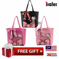 Ready Stock ISALES Hello Kitty Shoulder Bag Tuition Bag