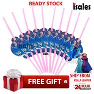 ISALES Frozen Theme Drinking Straw Kids Party Decoration Event
