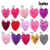 Ready Stock 100pcs ISALES Artificial Rose Petals Confetti Wedding Party Deco