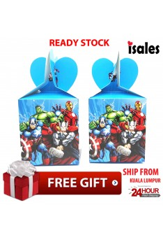 ISALES Avenger Candy Gift Box Kids Birthday Party Event Decorations