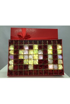 Romantic Rose Light Box - I Love You-Red