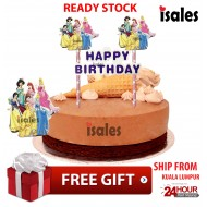 Ready Stock ISALES Cake Topper Princess Party Cake Decoration  Birthday