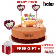Ready Stock ISALES Cake Cupcake Topper Kitty Party Decoration Birthday