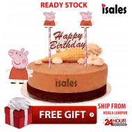 Ready Stock ISALES Cake Cupcake Topper Peppa Party Decoration Birthday