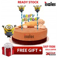 Ready Stock ISALES Cake Cupcake Topper Minion Party Decoration Birthday