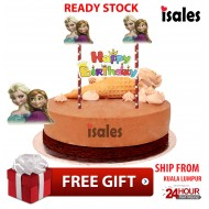 Ready Stock ISALES Cake Cupcake Topper Frozen Party Decoration Birthday