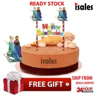 Ready Stock ISALES Cake Cupcake Topper Frozen 2 Party Decoration Birthday