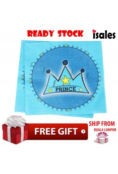Party Decoration ISALES Prince Crown Theme Disposable Napkins Tissue Happy Birthday Party