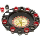 Roulette Drinking Game Set with 16 Shot Glass