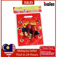 Party Decoration ISALES 10pcs Spiderman Goodies Plastic loot bag Door Gift Birthday