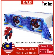 Party Decoration ISALES Spiderman Theme Tablecloth Table Cover Kids
