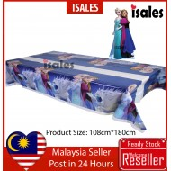 ISALES Blue Frozen Theme Tablecloth Table Cover Kids Party Decorations Baby shower