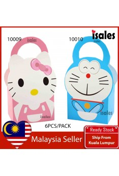 ISALES Kitty Doraemon Theme Candy Box Door Gift Kids Party Event Decorations