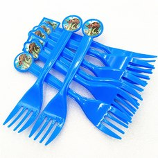 Party Decoration 10pcs ISALES Moana Theme Disposable Fork Birthday Tableware