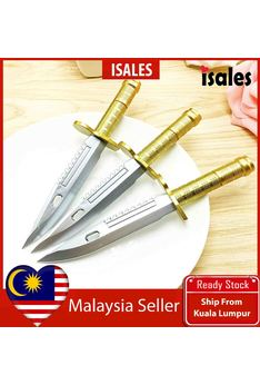 Ready Stock ISALES 1pcs  Gold Knife Design Gel Pen School office Supplies Cute Stationery Door Gift Party Supplies
