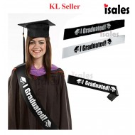 Malaysia Seller ISALES I Graduated Graduation Convocation party Sash