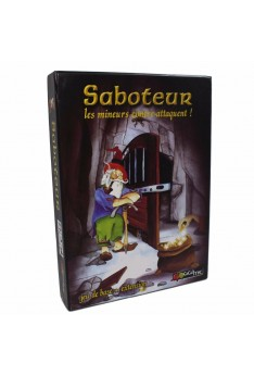 Vintage Saboteur 2 Card Game Board Game Path Action Gold Nugget Card Family Party