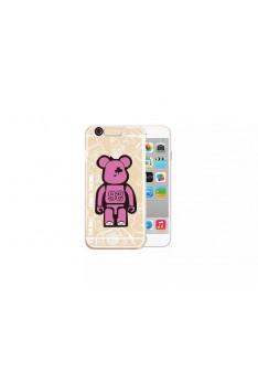 Iphone 6 Popobe bear Casing Incoming Call Cute LED Flash Light UP Remind Clear Cover Case  L50016IPHONE6